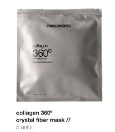 Collagen 360 crystal fiber mask (5 miếng mặt nạ)