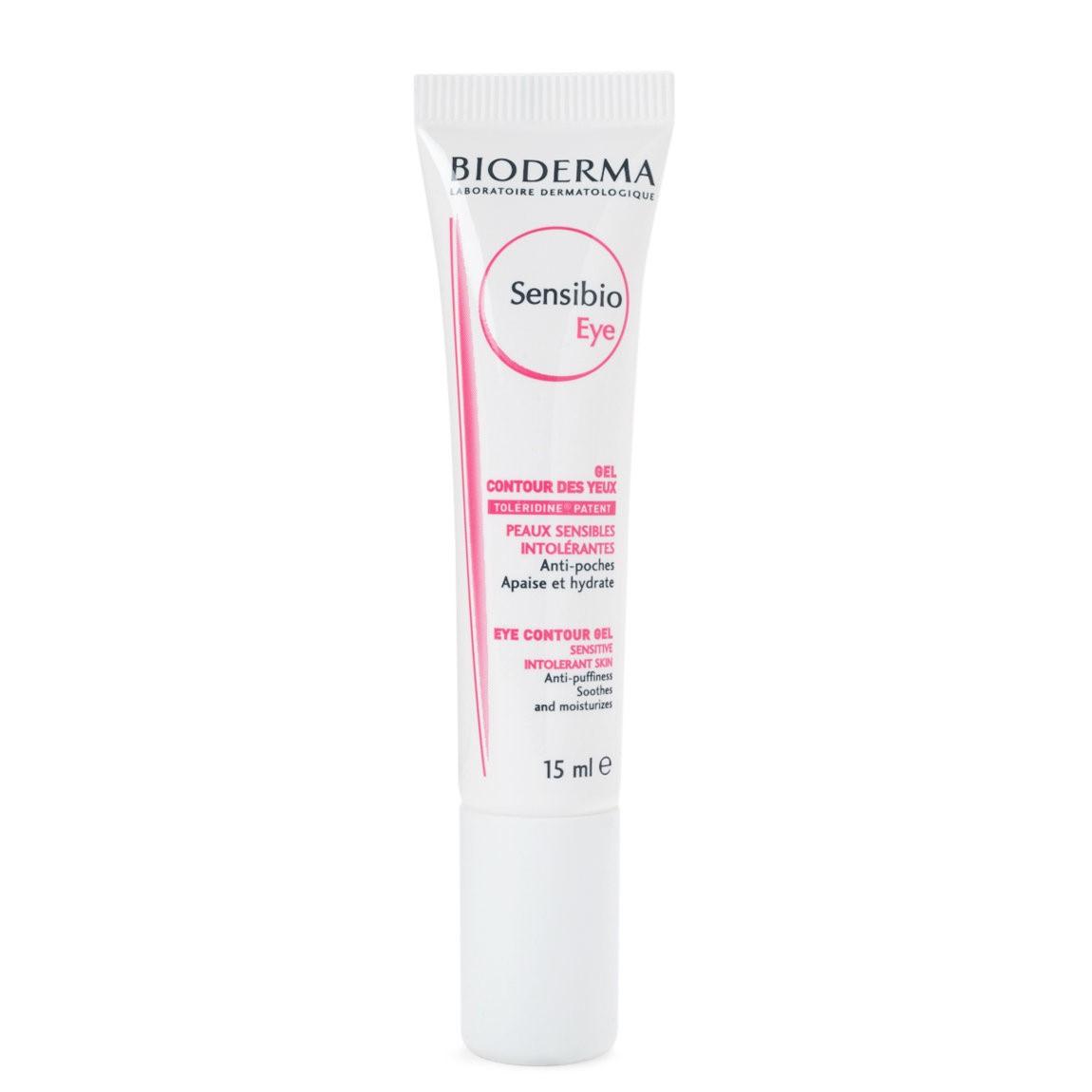 Gel dưỡng ẩm chống thâm, giảm bọng mắt Bioderma Sensibio Eye 15ml lý tưởng cho làn da nhạy cảm-hibeauty