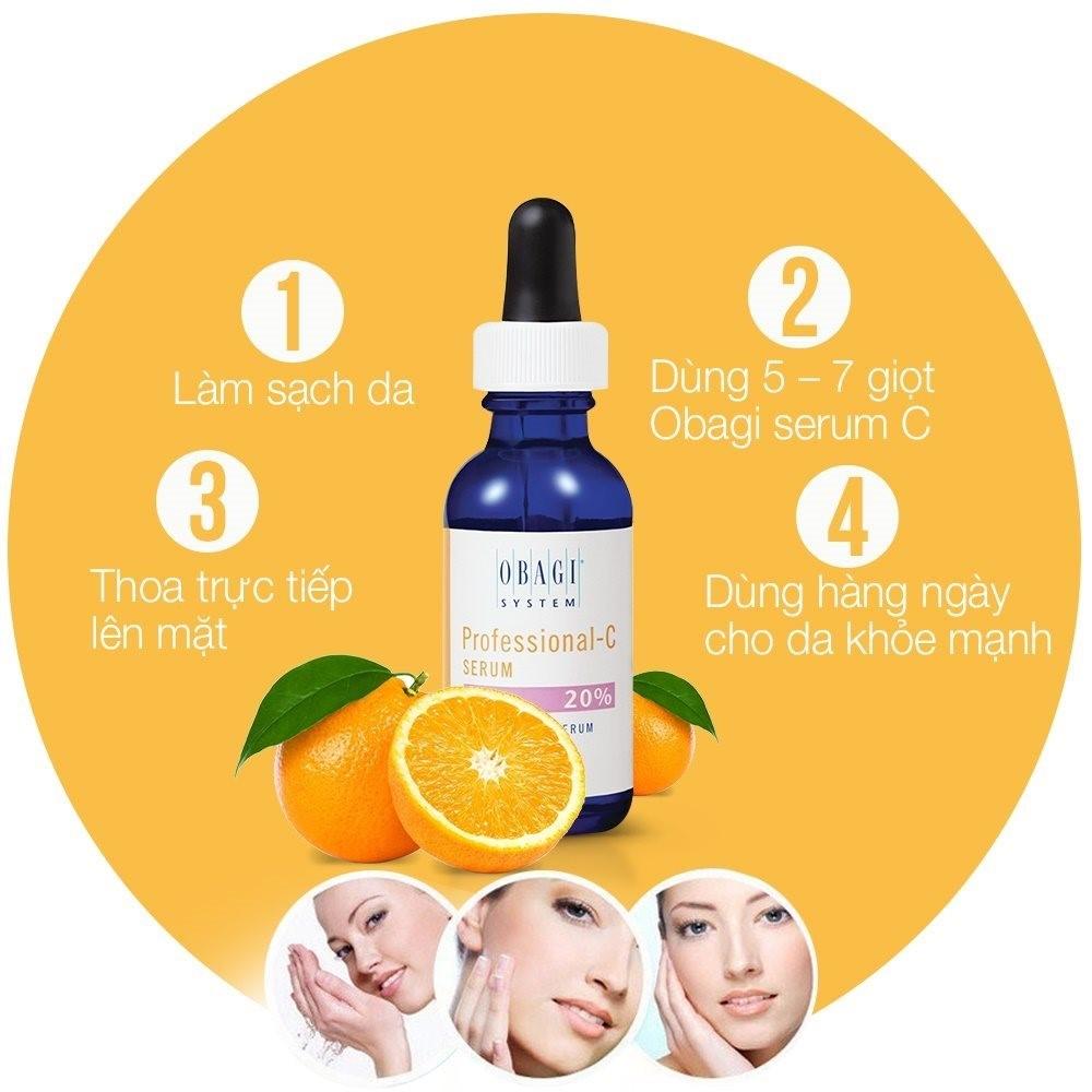Serum chống lão hóa, dưỡng sáng da Professional-C Serum 20% 30ml – Lý tưởng dành cho da hỗn hợp, da nhờn và ít nhạy cảm-hibeauty