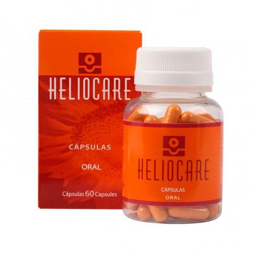 Viên uống chống nắng toàn thân, ngăn ngừa lão hóa Heliocare Oral 60 viên bán chạy số 1 tại Tây Ban Nha-hibeauty