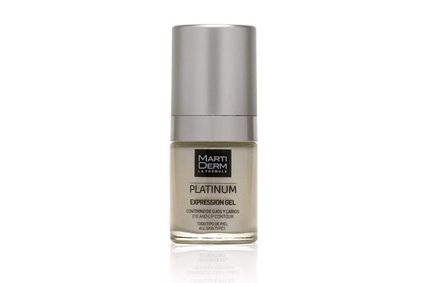Gel dưỡng mờ nếp nhăn mắt và môi MartiDerm Platinum Expression Gel